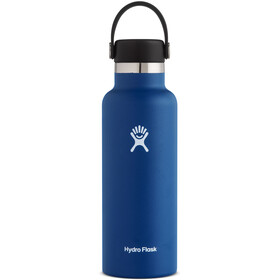 Hydro Flask Standard Mouth Drinkfles met standaard Flex Cap 532ml, cobalt